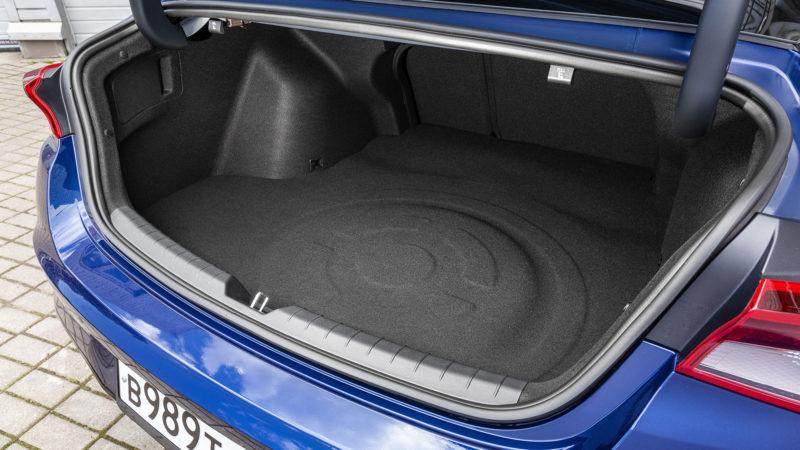 Багажник КИА К5 – объем, удобство, фото