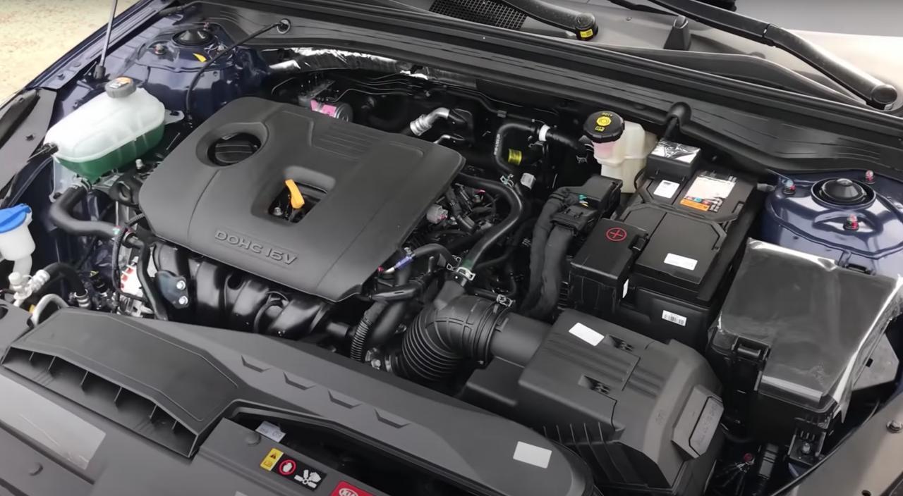 Двигатель КИА К5 2.0 – характеристики, конструкция, надежность