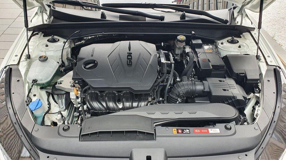 Двигатель КИА К5 2.5 GDI – конструкция, особенности, надежность